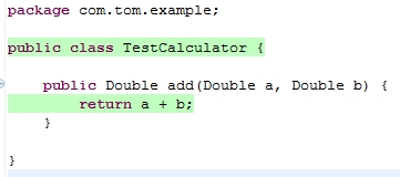 Code Coverage Example