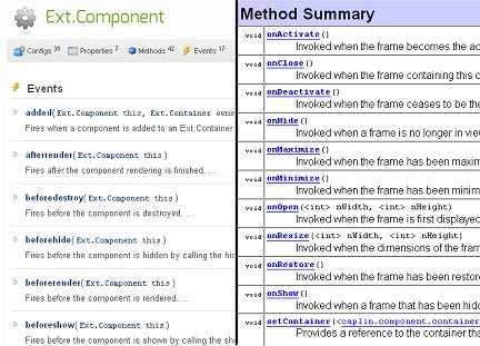 Component APIs