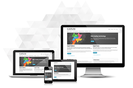 Caplin's Responsive Website