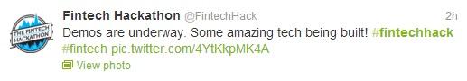 FinTech tweet