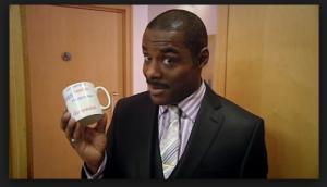 Johnson in Peep Show